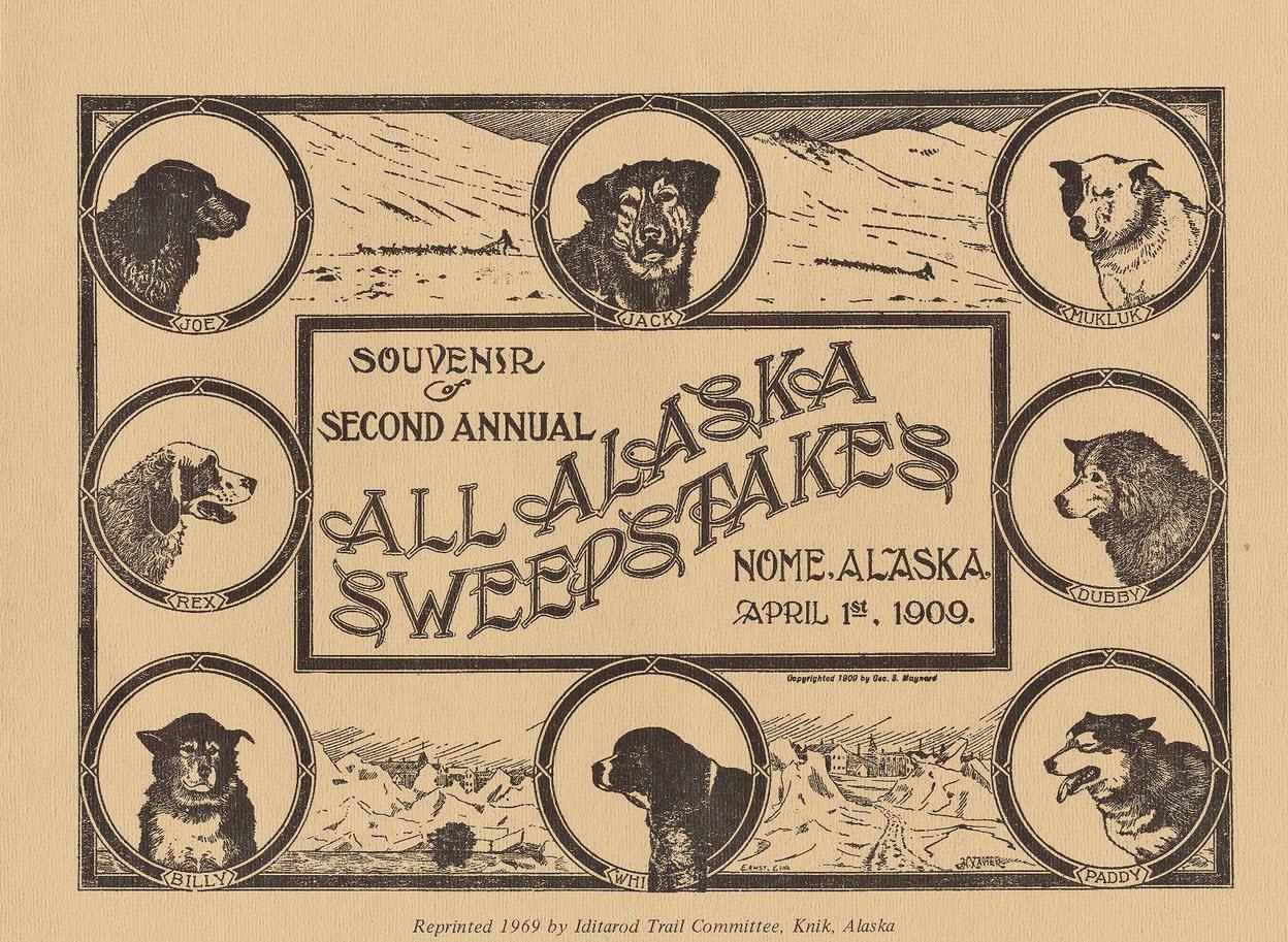 Souvenir vom All Alaska Sweepstakes 1909